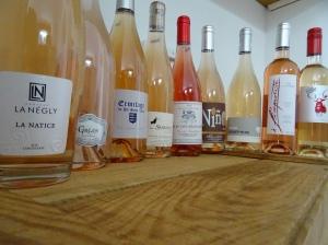 vin vins rosé languedoc petit chai grande motte caviste été plages