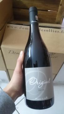 vin nature sans sulfites le petit chai caviste la grande motte domaine le sollier originel merlot